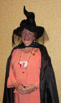 Anne Bucher, Director CAR, got into the Halloween spirit at the conference