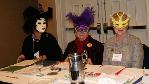 The CAR State Presidents  got into the Halloween spirit as well